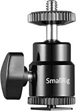 """SMALLRIG LCD Monitor Shoe Adapter 1/4"""" Camera Hot Shoe Mount w/Additional 1/4"""" Screw for Cameras, for Canon/for Nikon/for Olympus/for Pentax/for Panasonic/for Fujifilm/for Kodak - 761"""