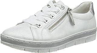 Remonte D5803, Sneakers Basses Femme, Argenté (Weiss-Silber/Ice/Argento 97), 36 EU