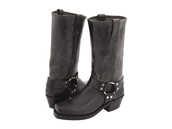 Frye  Harness 12R (Charcoal Old Town) Womens Pull-on Boots