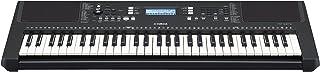 Yamaha PSR-E373, keyboard cyfrowy, czarny - wszechstronny instrument z 61 dynamicznymi klawiszami - keyboard dla początkuj...