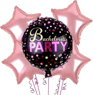 SOI (5 Pcs) Bachelorette Bride to be Party Balloon for Decoration (Bachelor Party Balloons)