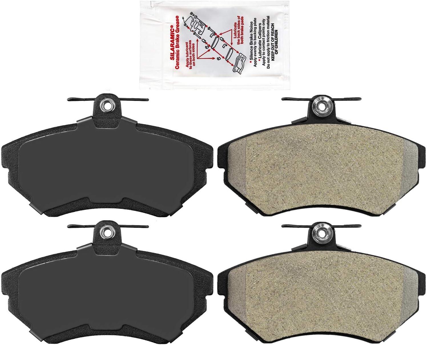 New Disc Brake Pad Set Max 87% OFF Jetta Max 57% OFF Cabrio Golf for
