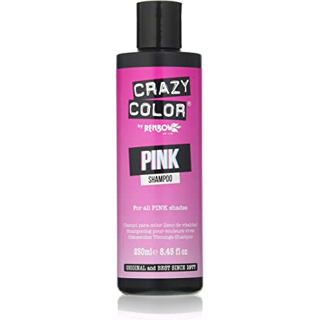 Crazy Color Champú Pink 250 ml (CRC040)