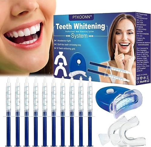 Kit de Blanqueamiento Dental Gel,Blanqueador de Dientes,Teeth Whitening Kit,Blanqueador Dientes Gel,Contra Dientes Am...