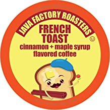 Java Factory French Toast Flavored Coffee for Keurig K Cup Brewers, 40Count