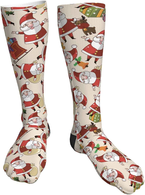 Pitbull Christmas Novelty Crazy Crew All items Free shipping free shipping Socks Tube Knee High