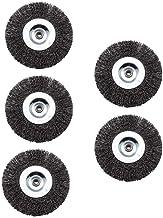 Grizzly ERB 550-3U Voegenborstels, set van 5 ronde borstels, voor Grizzly universele borstel ERB 550-2S, Grizzly ERB 550-3U