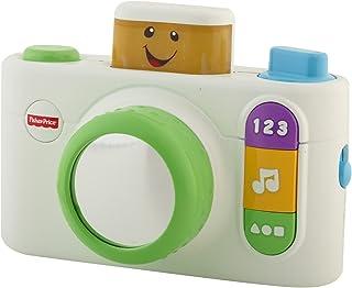 Fisher-Price Ríe y aprenda juguete de cámara, Blanco