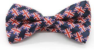 Silk Finish Tuxedo BowTie; Pre-tied Wedding Bow Ties for Men or Boys. Adjustable Formal Bow Tie for Weddings etc.