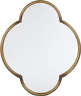 Furniture HotSpot Holly & Martin Willis Decorative Wall Mirror - Gold - 30