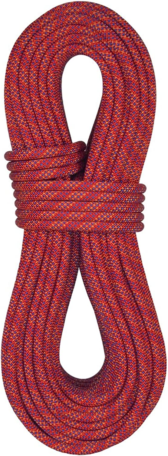 blueewater Ropes 11mm Enduro Standard Dynamic Single Rope (Red Mix 60M)