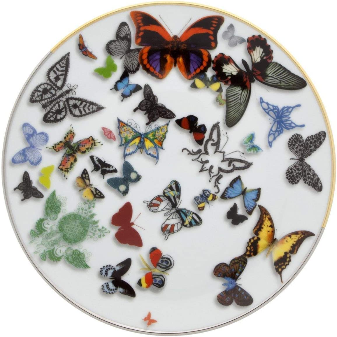 Cheap Dessert Plate-Christian Lacroix - Max 88% OFF Parade Butterfly