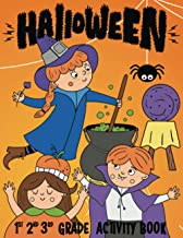Halloween 1st 2nd 3rd Grade Activity Book: I Spy, Mazes, Coloring, Puzzles, Games and More! (Halloween Activity Books For Kids Corner) PDF