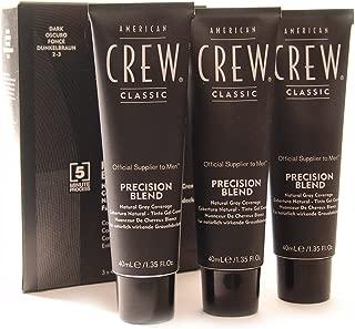 American Crew Precision Blend Hair Dyes, Dark by AMERICAN CREW