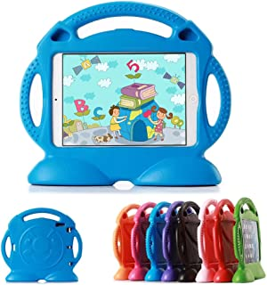 Lioeo iPad 2 Case for Kids Shock Proof Eva Foam Case with Handle Standing Cover for Apple iPad gen 2/3/4 iPad Cover 9.7 Inch Screen - Not for ipad Air or ipad Mini (Blue)