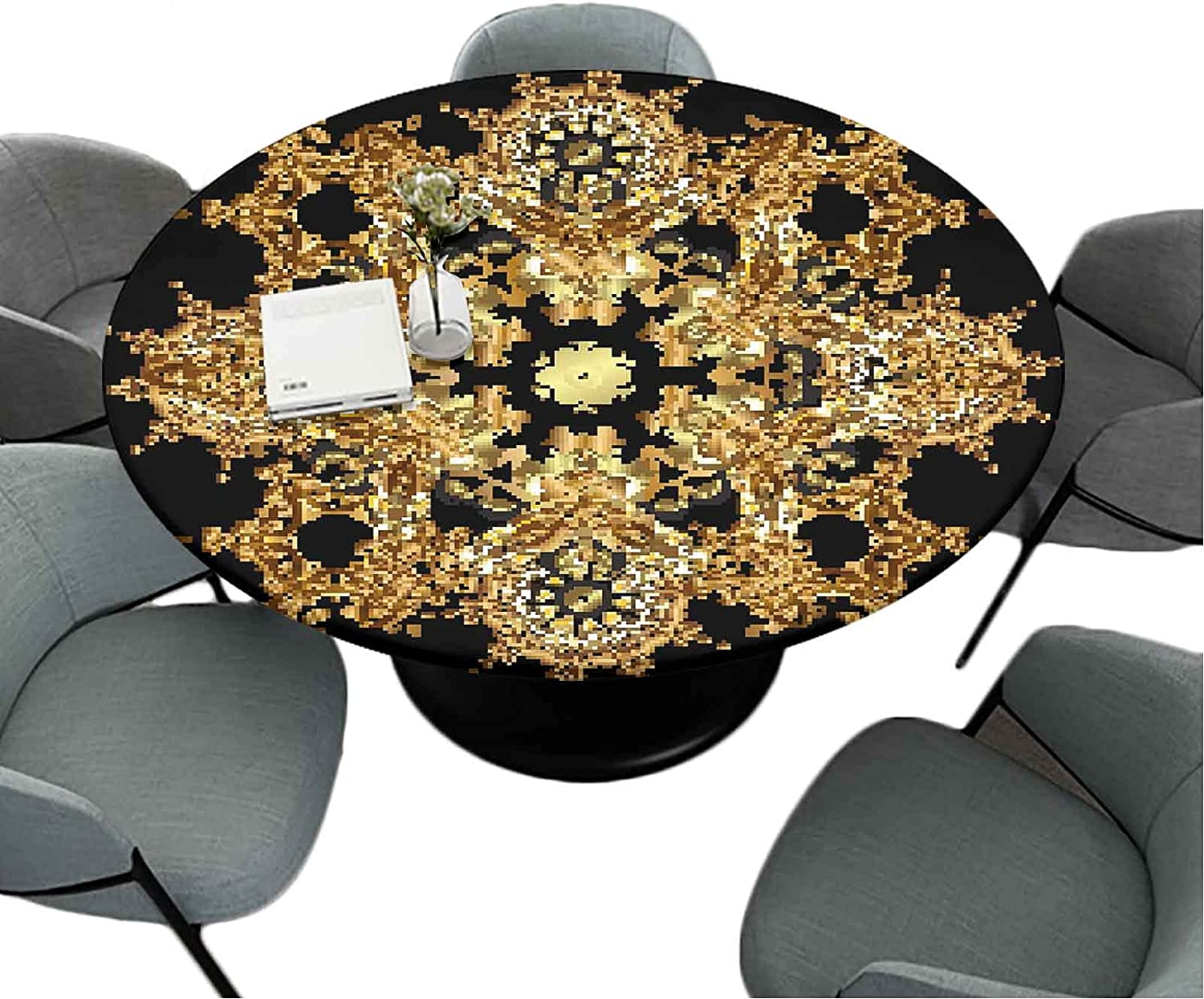 Fitted Ranking TOP3 Round Tablecloths Be super welcome 70 Inch Holiday for Decorative H