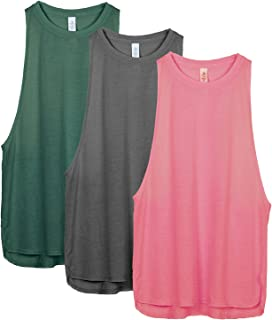 icyzone Workout Tank Tops for Women - Running Muscle Tank...