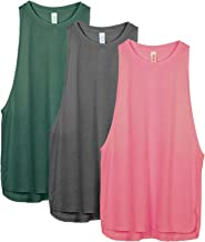 icyzone Workout Tank Tops for Women – Running Muscle Tank Sport Exercise Gym Yoga..