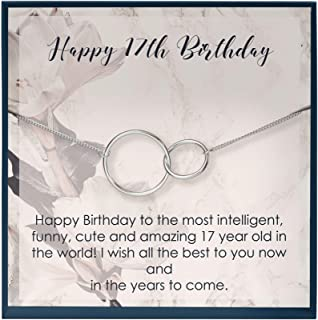 Muse Infinite Gifts for 17 Year Old Girl Birthday Gifts for 17 Birthday Necklace for 17th Birthday Gifts for Seventeen Gir...