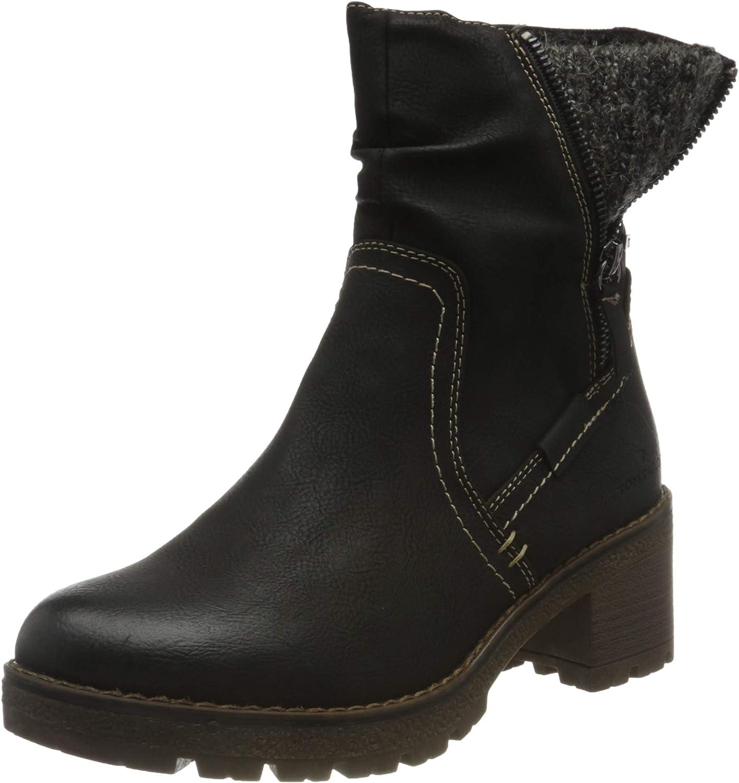 Tom Tailor Women's Bootie Mid Calf Boot