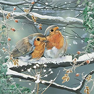 Otter House JIGSAW SQUARE - FROSTY FRIENDS (P)