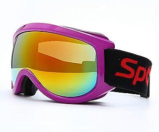 Ski Goggles Anti Fog Anti Wind Sand Big Spherical Mirror Glasses Children Adult Climbing Snow Goggles