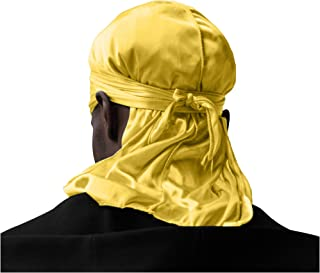 ShyneDurags Silky Durag – Perfect for 360 Waves, Dreadlocks and Curls, Premium Silk Durags for Men and Women, Ultra-Soft, ...