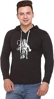 SHAUN Men's Full Sleeves Hooded T-Shirts