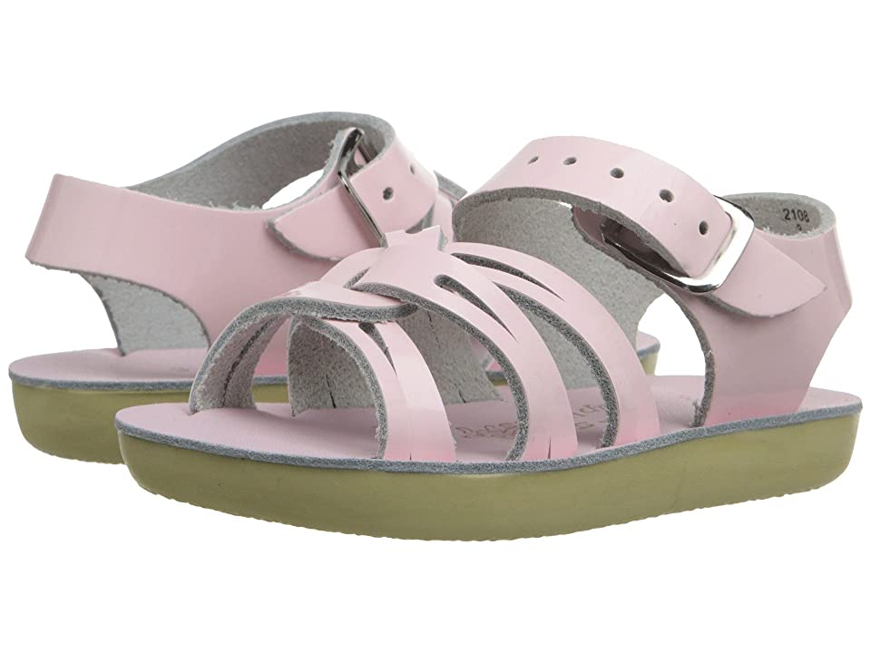 Salt Water Sandal by Hoy Shoes Sun-San Strap Wees (Infant/Toddler) (Shiney Pink) Girls Shoes