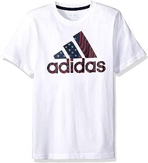 adidas Boys' Short Sleeve Graphic Tee Shirt