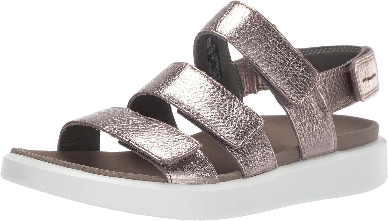 ECCO Womens Flowt 3 Strap Sandal