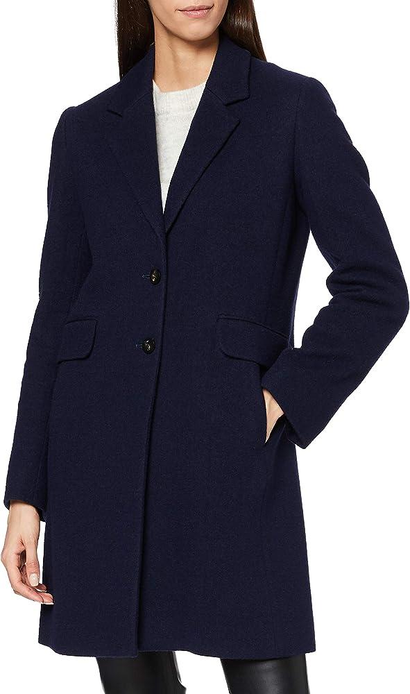 Hugo boss,cappotto per donna, in misto lana testurizzato 50439072