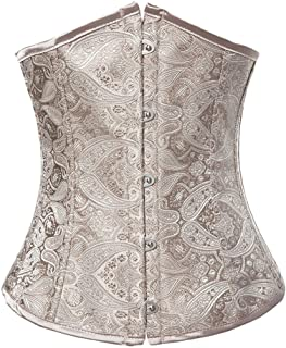 Alivila.Y Fashion Corset Women's Vintage Lace Boned Renaissance Corset