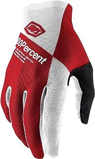 100% Unisex Handschuhe Celium, Cherry Silver - Rot Weiß, XL, HU-GLO-0050