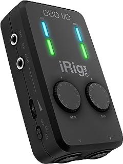 IK Multimedia iRig Pro Duo I/O 2チャンネル・モバイル・オーディオMIDIインターフェース【国内正規品】