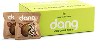 Dang Toasted Coconut Chips, Gluten-Free, Vegan, Non-GMO, Chocolate Sea Salt, 0.7 Ounce (24 Count)