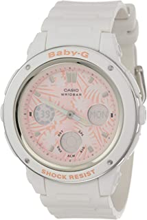 Casio Baby G Women BGA150F-7A Year-Round Analog-Digital Automatic White Watch
