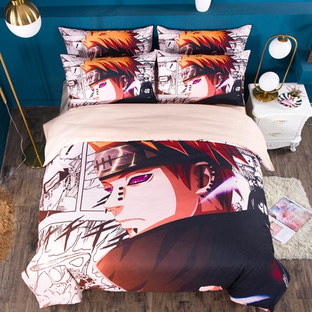 Anime Hokage Quilt Chicago Mall Pattern Bedding Set and Our shop OFFers the best service is Cover Light