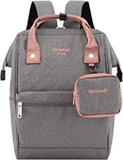 Travel Laptop Backpack for Men Women, Huge Capacity 15.6'' Computer Notebook Bag for School College Students(Gray)