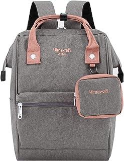 Travel Laptop Backpack for Men Women, Huge Capacity 15.6'' Computer Notebook Bag for School College Students(Gray)