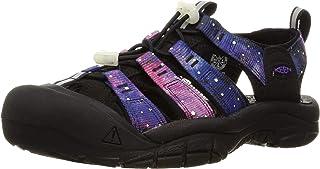 KEEN Men's Newport H2 Black/Purple 9 M