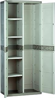 comprar comparacion Plastiken M282967 - Armario de Resina escobero plastek 176 x 70 x 44 cm