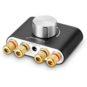 2020 Nobsound NS-01G Pro パワーアンプ bluetooth 5.0 100W アンプ スピーカー HiFi オーディオ 電源付き (ブラック)