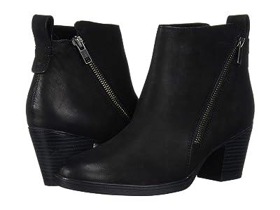 Rockport Maddie Ankle Zip Boot (Black) Women