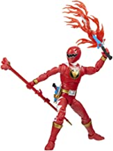 Power Rangers Lightning Collection Dino Thunder Red Ranger 6-Inch Premium Collectible Action Figure Toy with Accessories