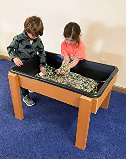 #51136 Kids' Station Outdoor Large Sand/Water Table w/Drain, Plastic