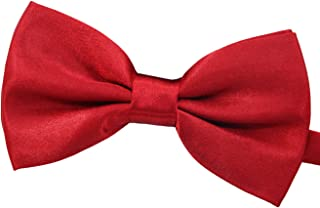 Amajiji Formal Dog Bow Ties for Medium & Large Dogs (D114 100% Polyester)