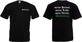 Wolfsburg Herren T-Shirt Meine Heimat, Mein Verein