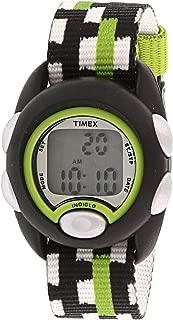Boy's Time Machines TW7C13000 Black Ostrich Leather...