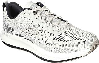 Skechers Men's Go Pulse-Performance Running and Walking Shoe, White/Black, 7